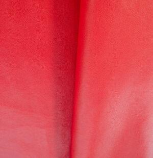 red vachetta pebble grain
