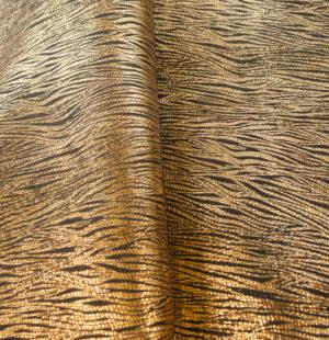 fasion laminated goat skin