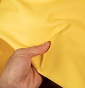 yellow veg tan